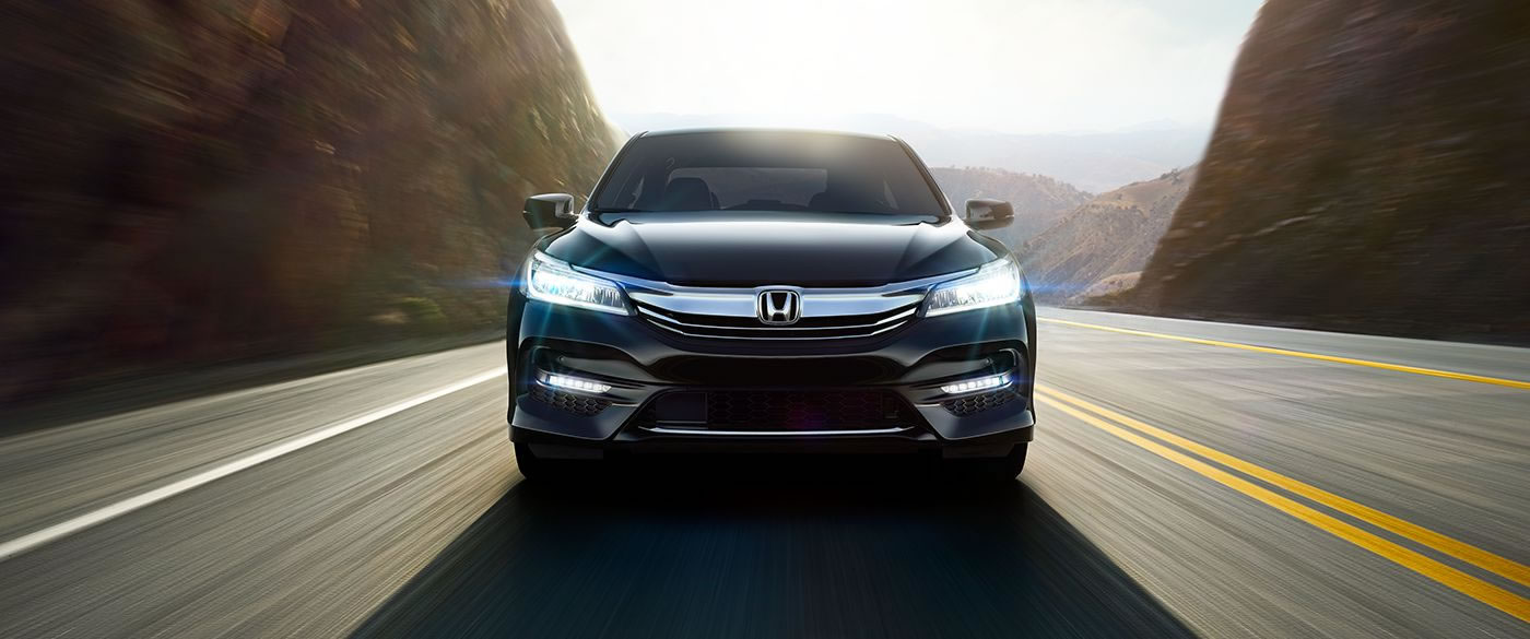 2017 Honda Accord Front Face Black Exterior
