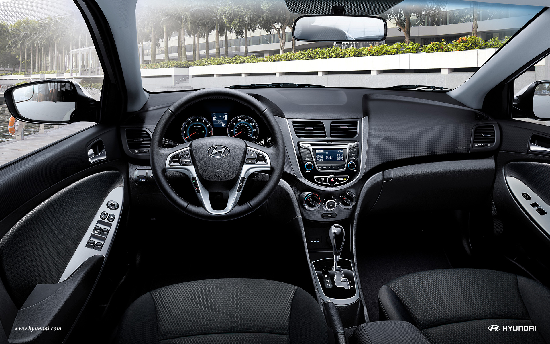 2017 Hyundai Accent Interior