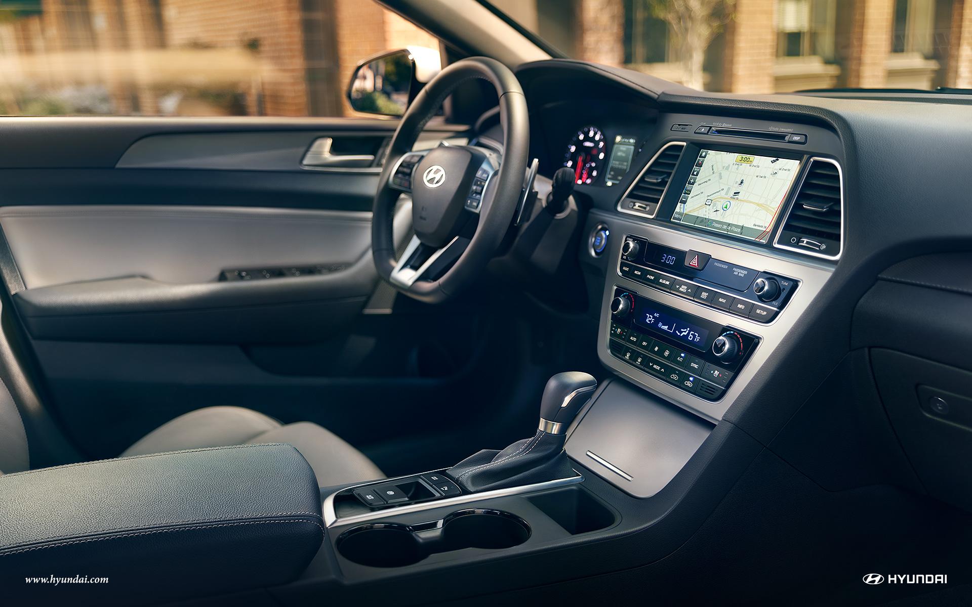 2017 Hyundai Sonata Limited Dashboard Interior Jpg