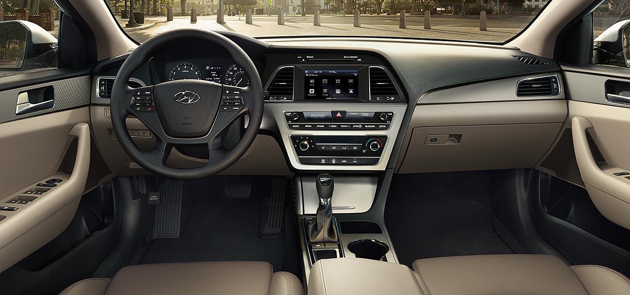 2017 Hyundai Sonata Se Front Dashboard Interior Jpg