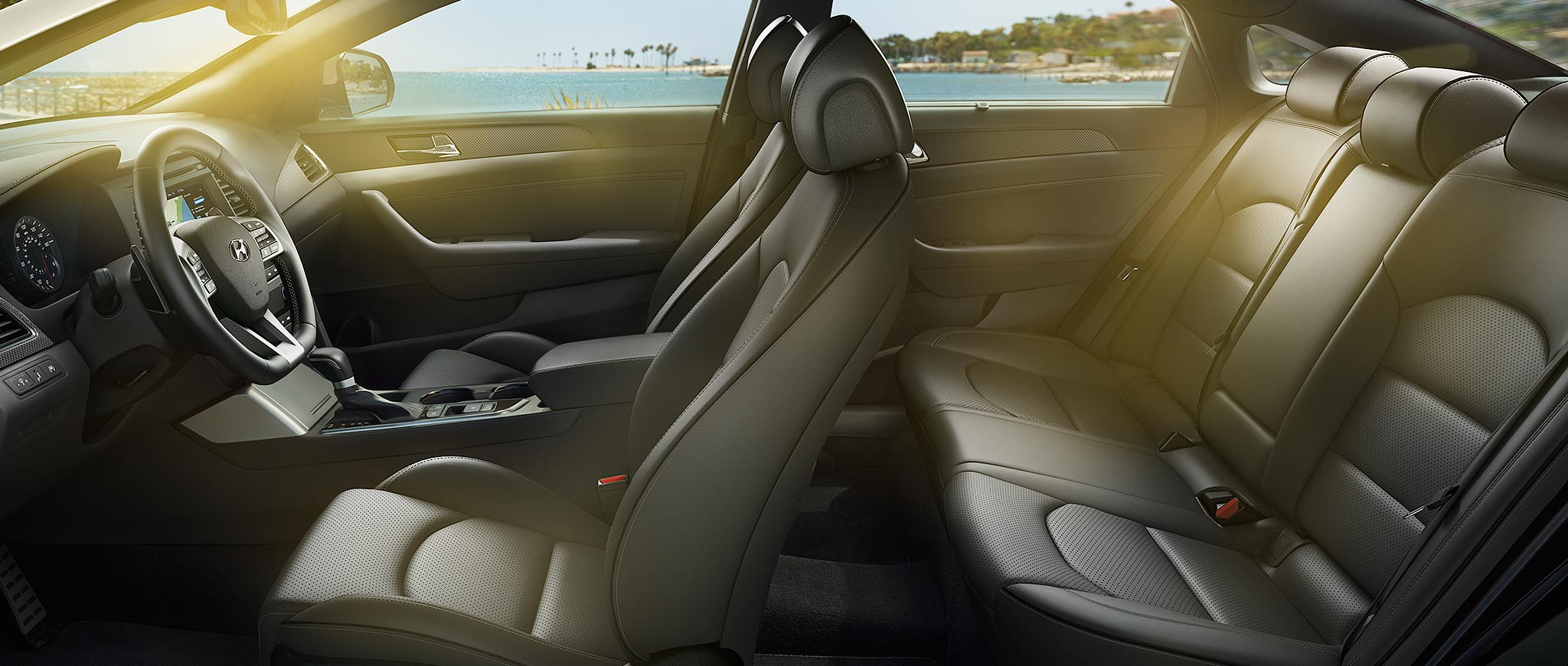 2017 Hyundai Sonata Interior Seating