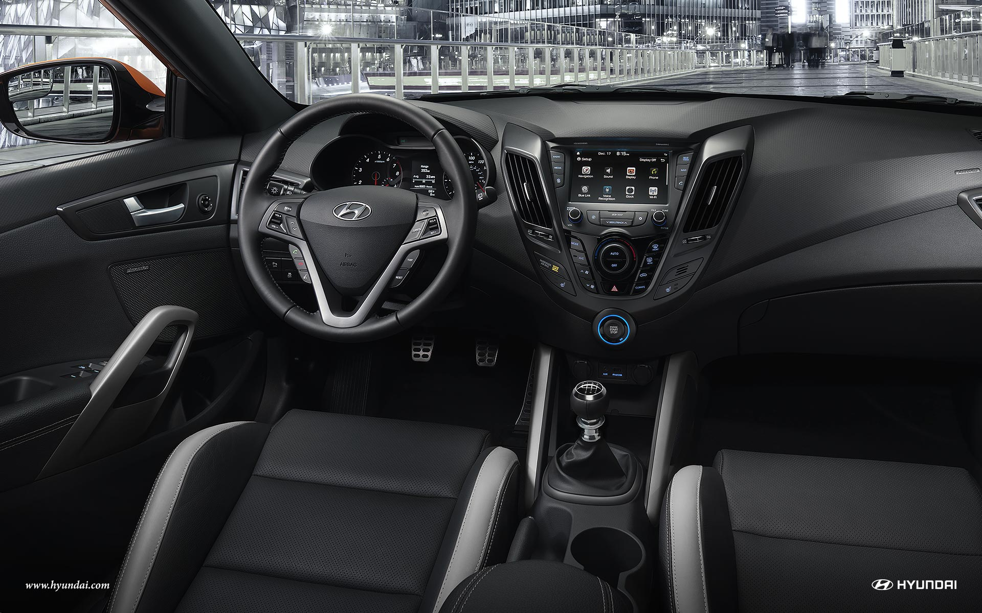 2017 Hyundai Veloster Interior Dashboard
