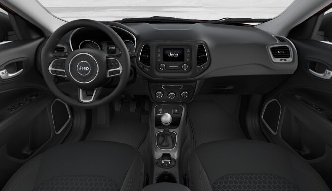 2017 Jeep All-new Compass Sport Interior Dashboard