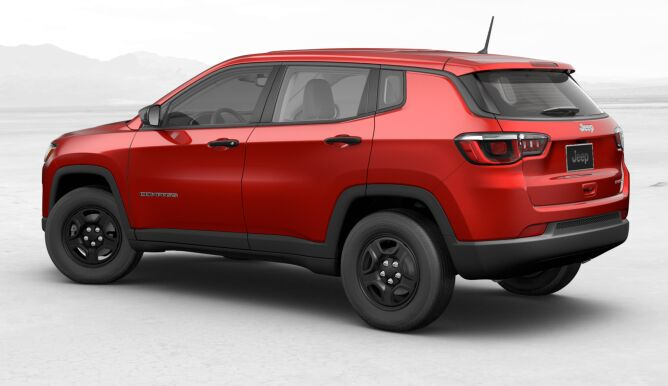2017 Jeep All-new Compass Sport Rear Side Exterior
