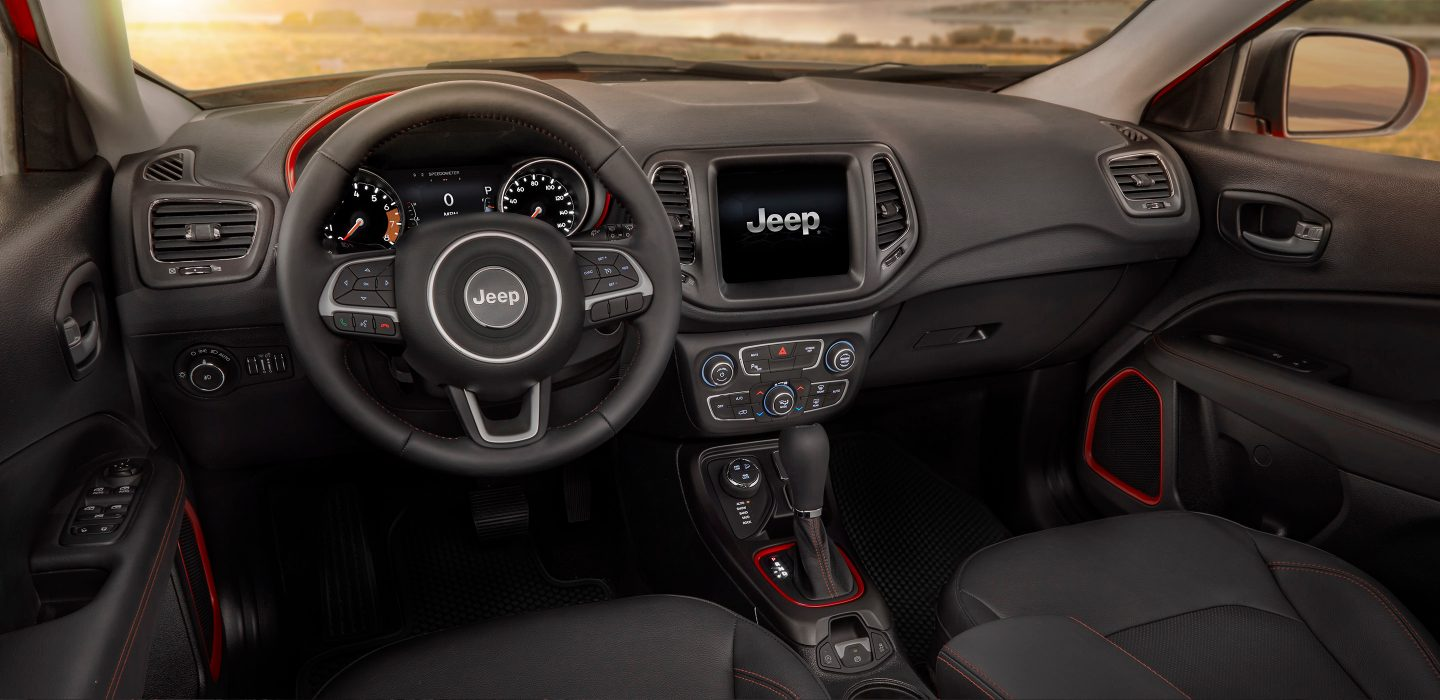 2017 All New Jeep Compass Interior Dashboard