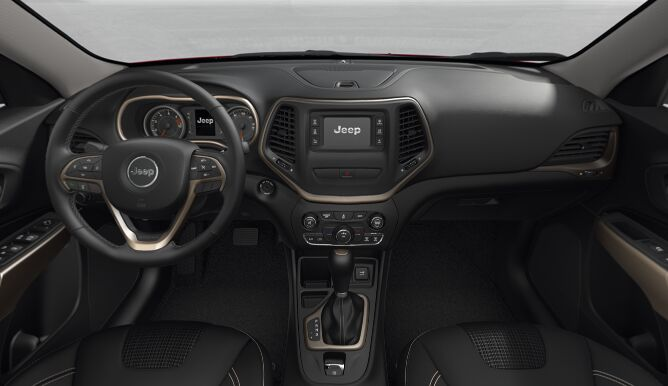 2017 Jeep Cherokee Latitude Interior