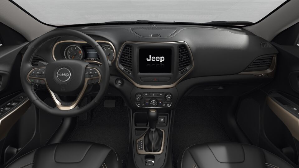2017 Jeep Cherokee Limited Black Interior