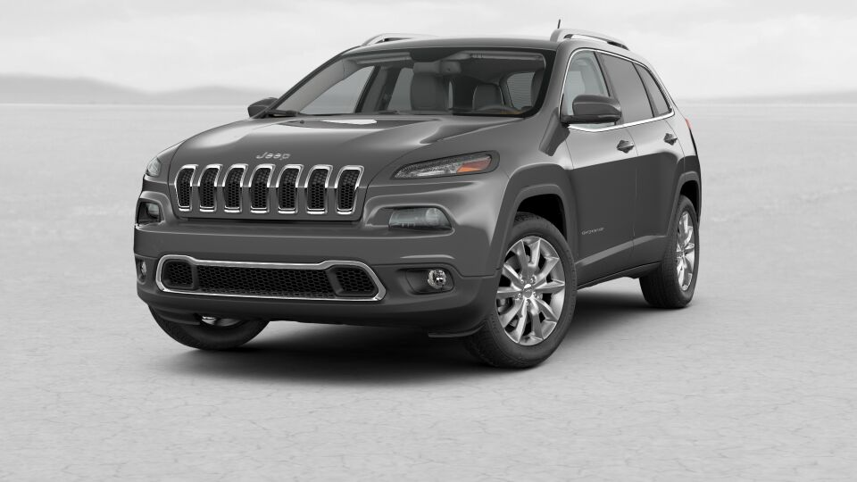 2017 Jeep Cherokee Limited Front Gray Exterior