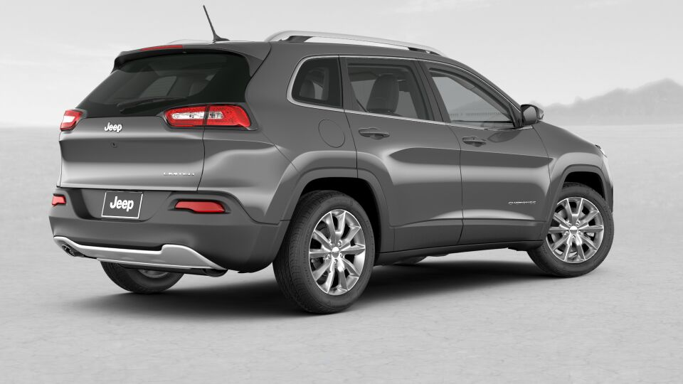 2017 Jeep Cherokee Limited Rear Gray Exterior