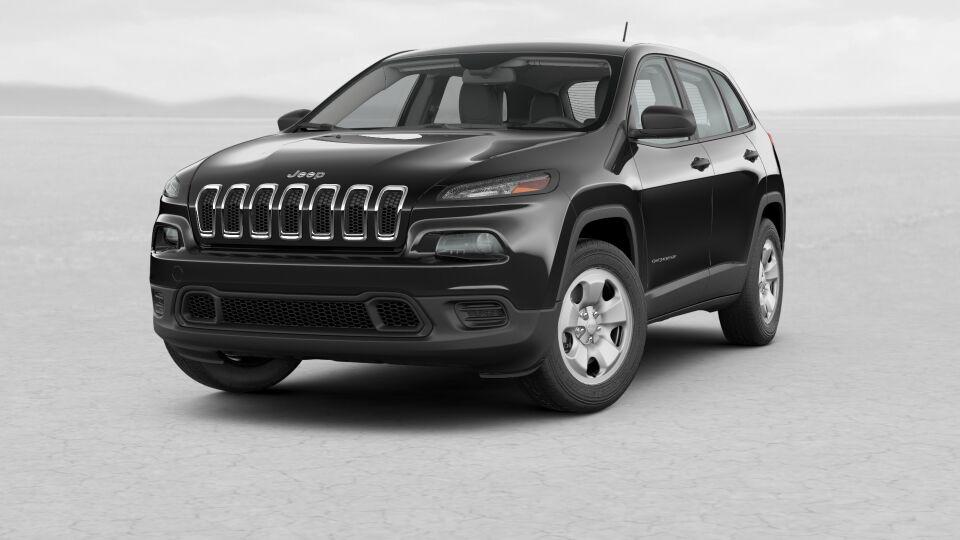 2017 Jeep Cherokee Sport Exterior Black