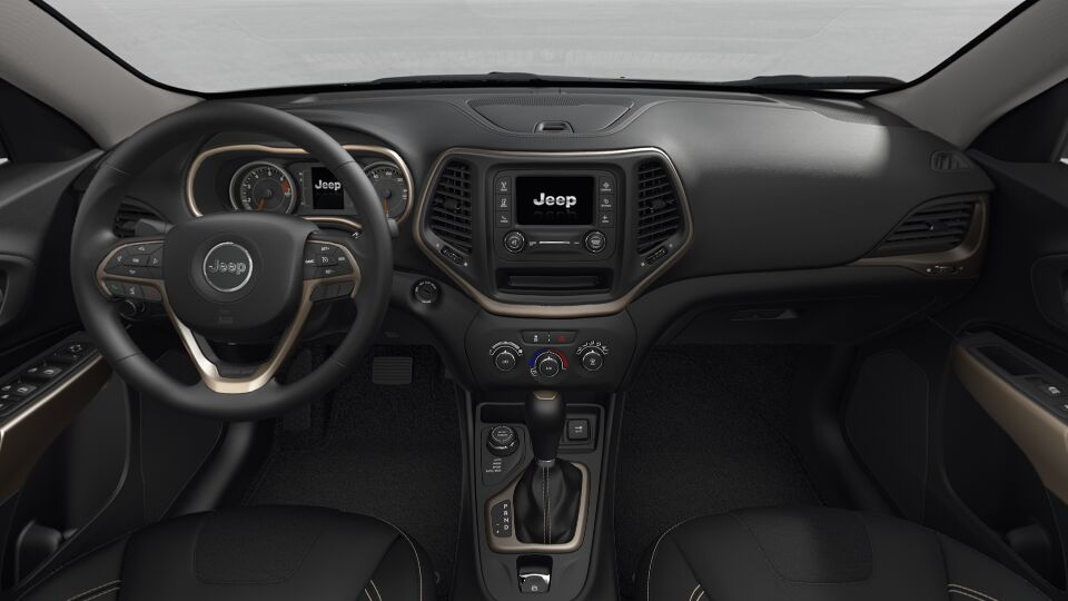 2017 Jeep Cherokee Sport Interior Front