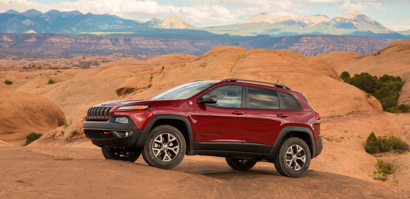 2017 Jeep Cherokee Trailhawk Red Exterior