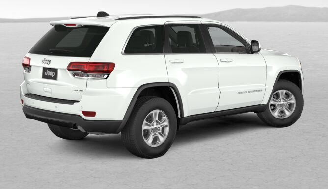 2017 Jeep Grand Cherokee Laredo 4x4 White Rear Exterior