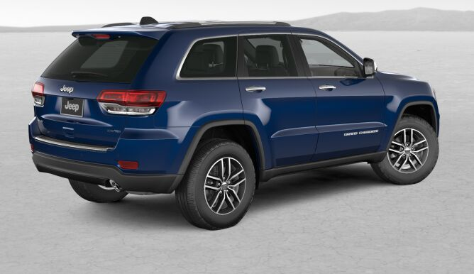 Jeep Grand Cherokee Limited X Blue Rear Exterior