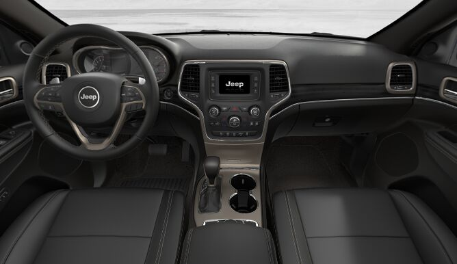 2017 Jeep Grand Cherokee Limited 4x4 Dashboard Interior