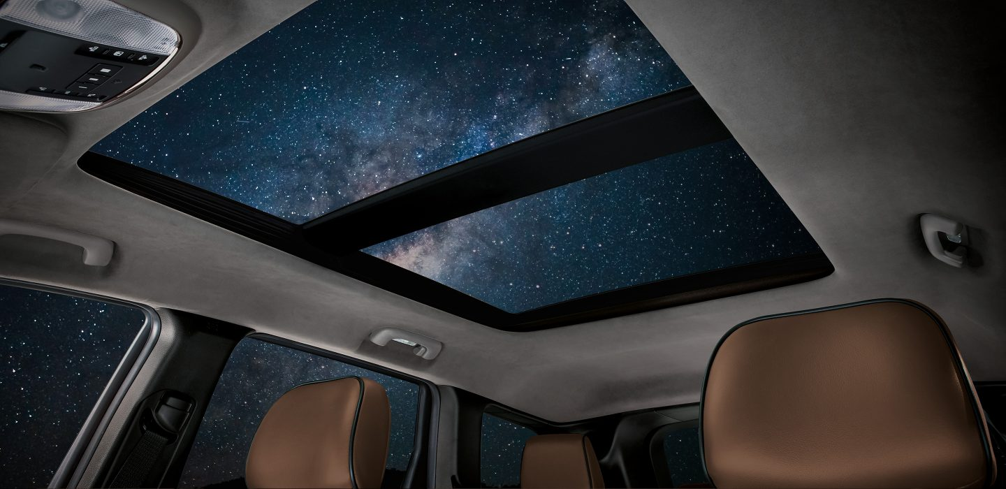 2017 Jeep Grand Cherokee Limited RWD Interior Sunroof