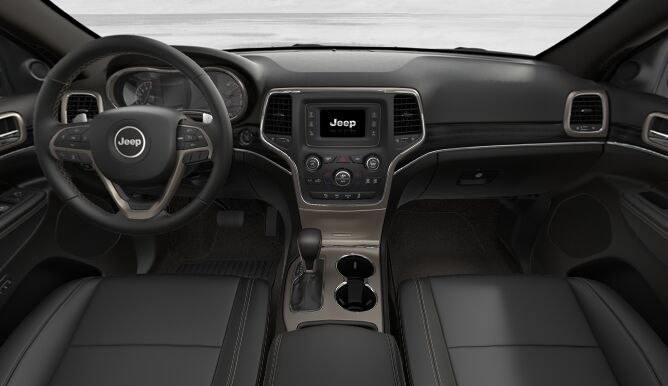 2017 Jeep Grand Cherokee Limited Dashboard Interior