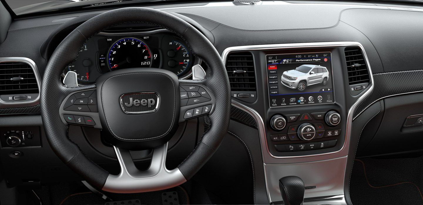 2017 Jeep Grand Cherokee Srt Interior Steering Wheel