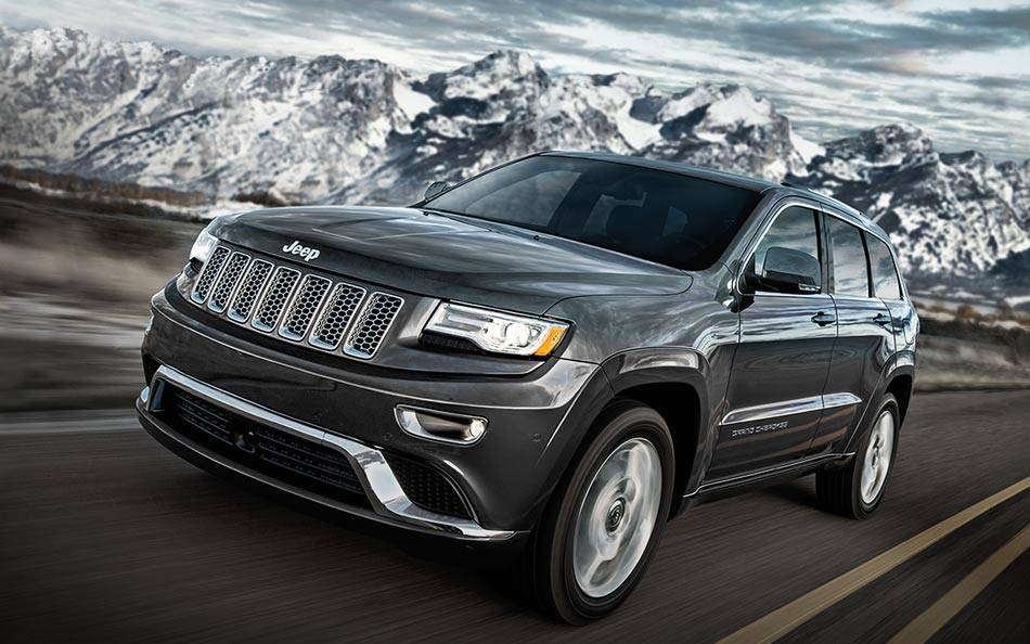 2017 Jeep Grand Cherokee Exterior Gray