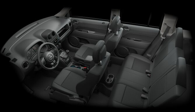 2017 Jeep Patriot Latitude Seating Interior