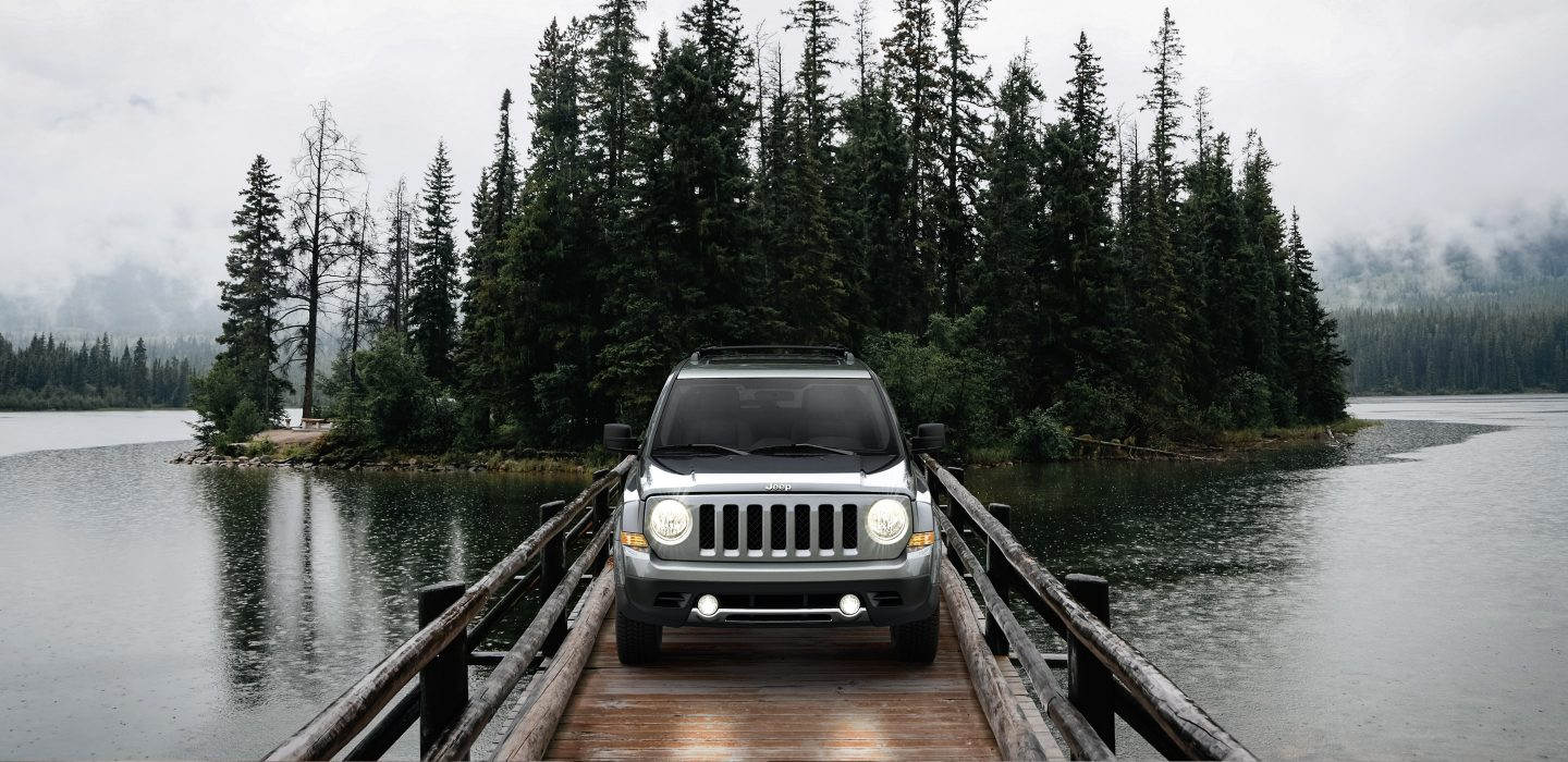 2017 Jeep Patriot Front Exterior Gray