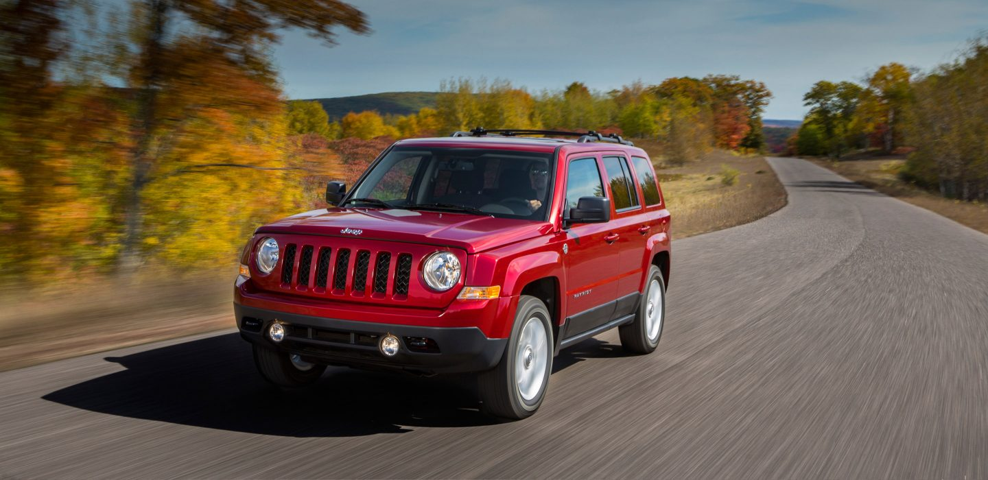 2017 Jeep Patriot Front Exterior Red