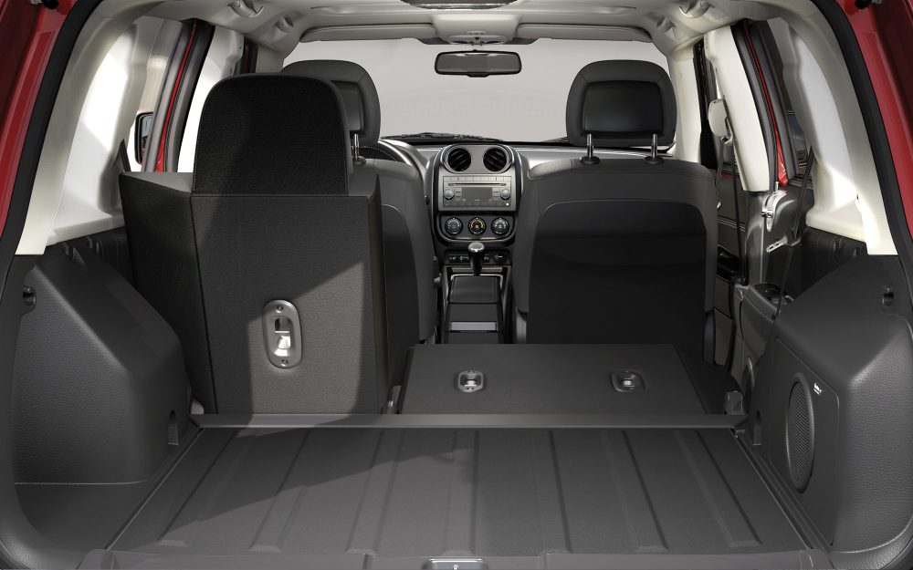 2017 Jeep Patriot Interior Trunk