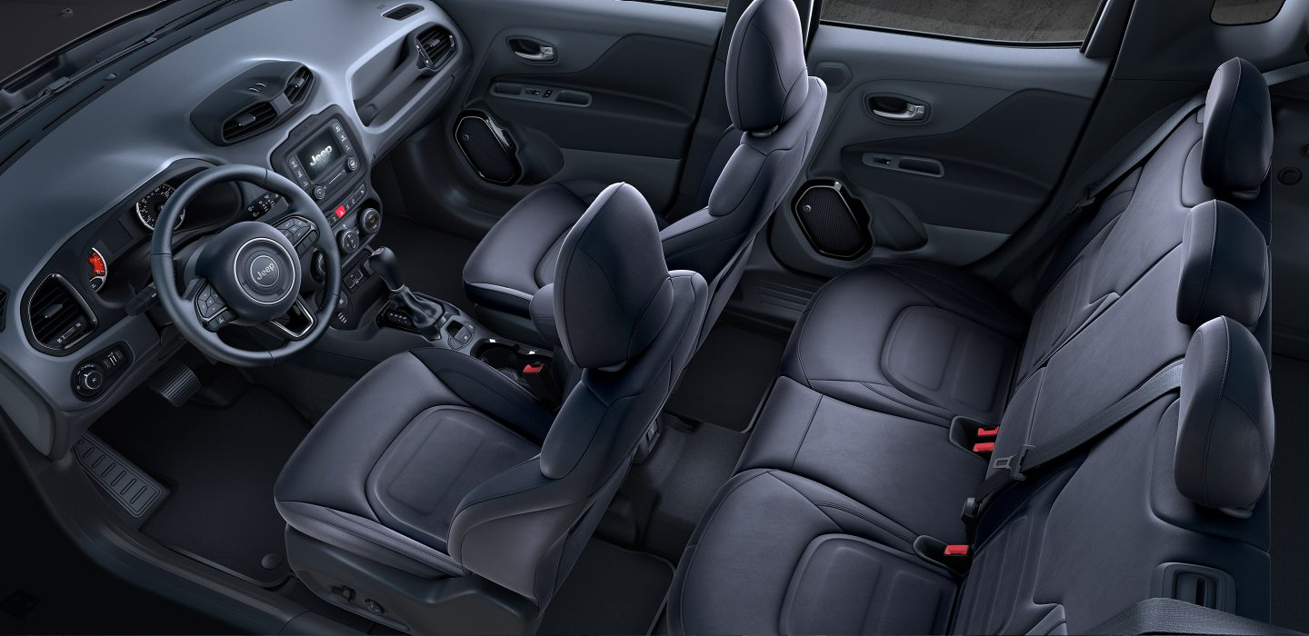 2017 Jeep Renegade Altitude Seating Interior
