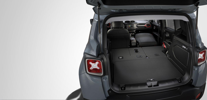 2017 Jeep Renegade Sport Interior Rear