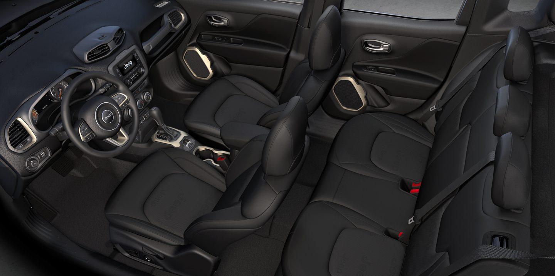 2017 Jeep Renegade Sport Interior
