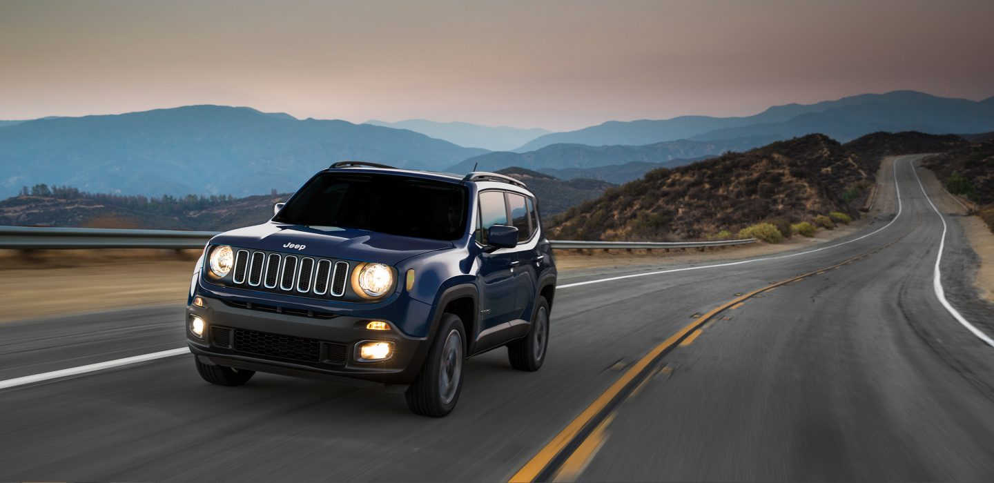 Lovely 2017 Jeep Renegade Exterior Front Blue