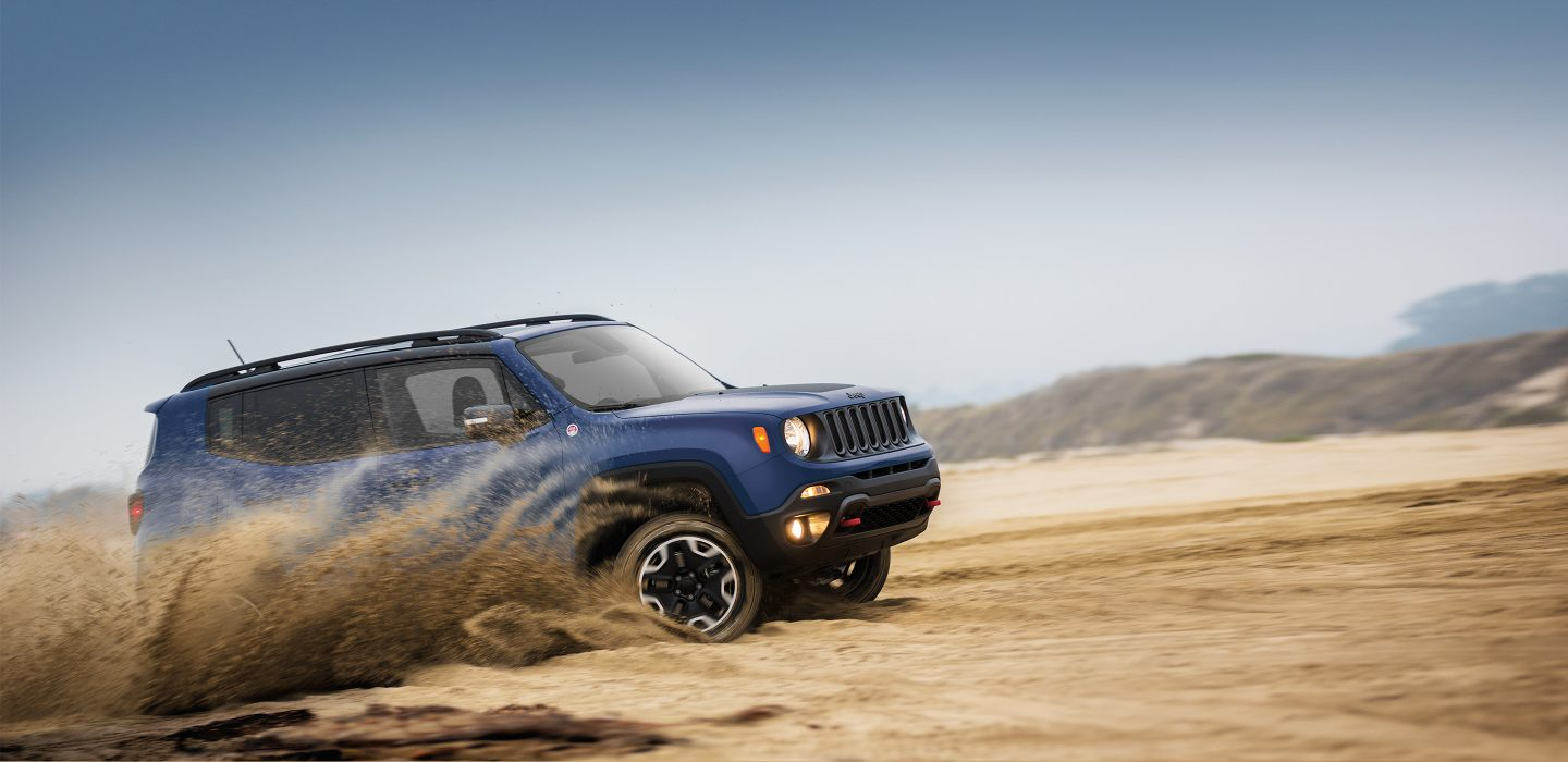 2017 Jeep Renegade Exterior Side Blue
