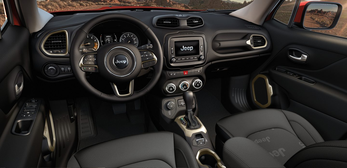 2017 Jeep Renegade Interior Front