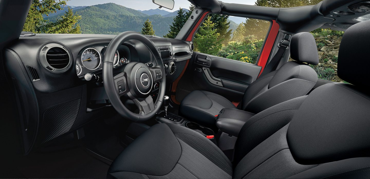 2017 Jeep Wrangler Sport Dashboard Interior