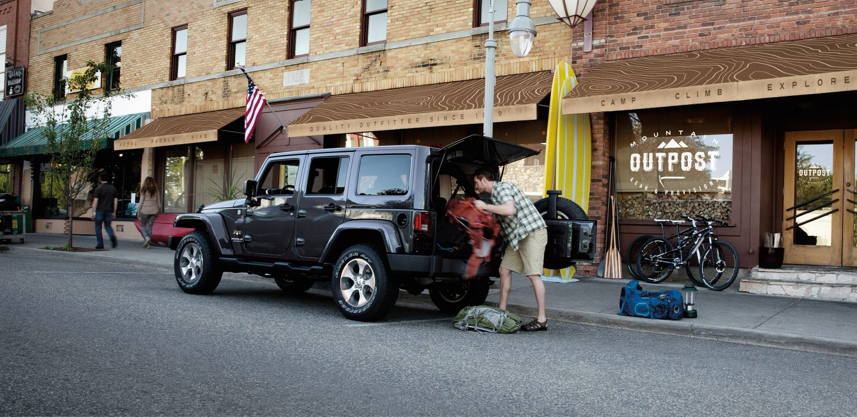 2017 Jeep Wrangler Unlimited Sahara 4x4 Exterior Rear