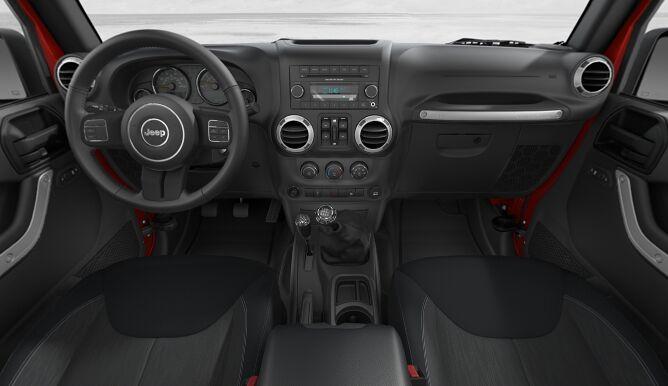2017 Jeep Wrangler Unlimited Sahara Dashboard Interior