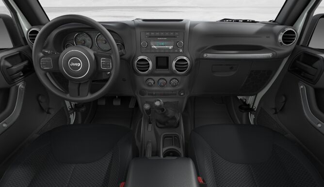 2017 Jeep Wrangler Unlimited Sport Interior