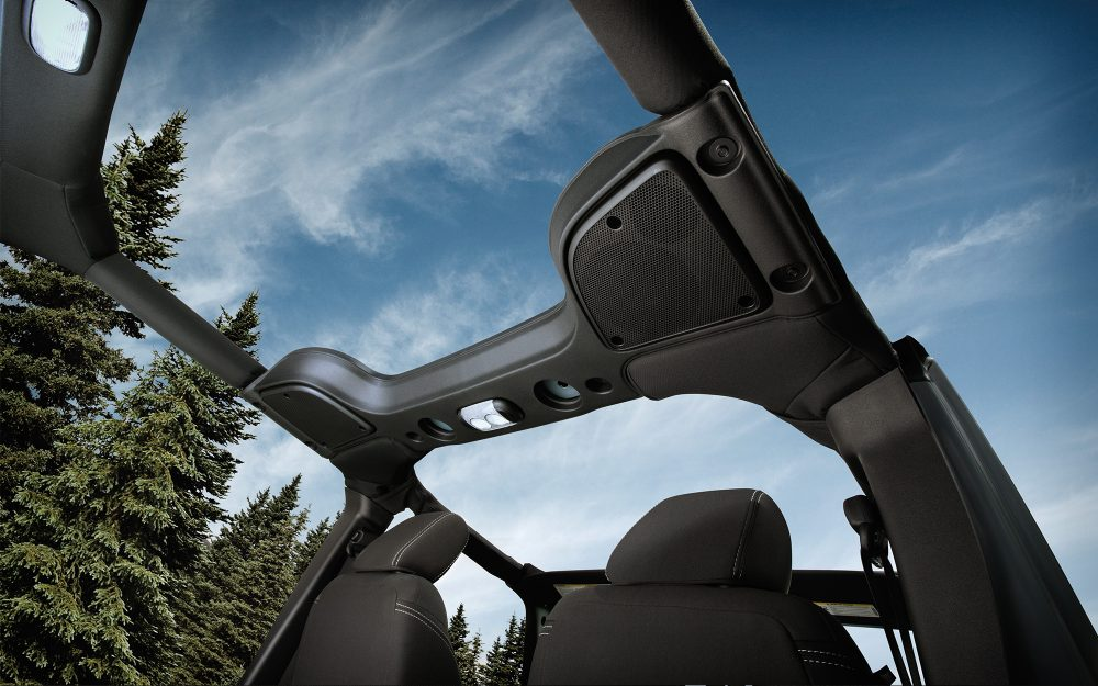 2017 Jeep Wrangler Unlimited Interior Top