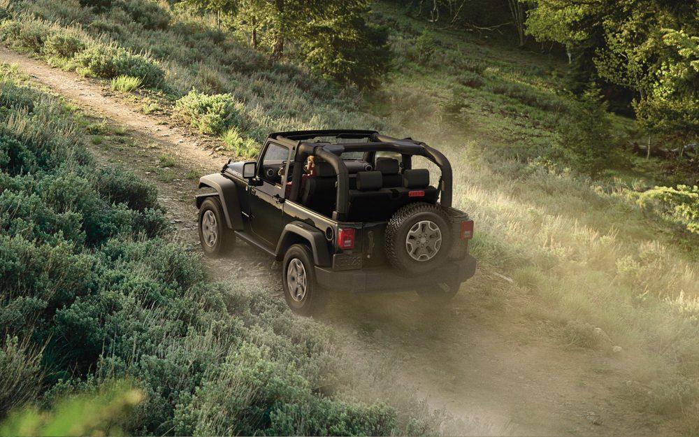 2017 Jeep Wrangler Exterior Rear Black