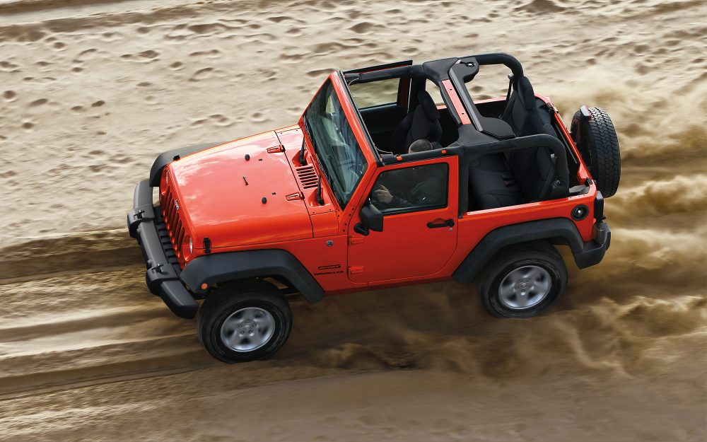2018 Jeep Wrangler Exterior Red