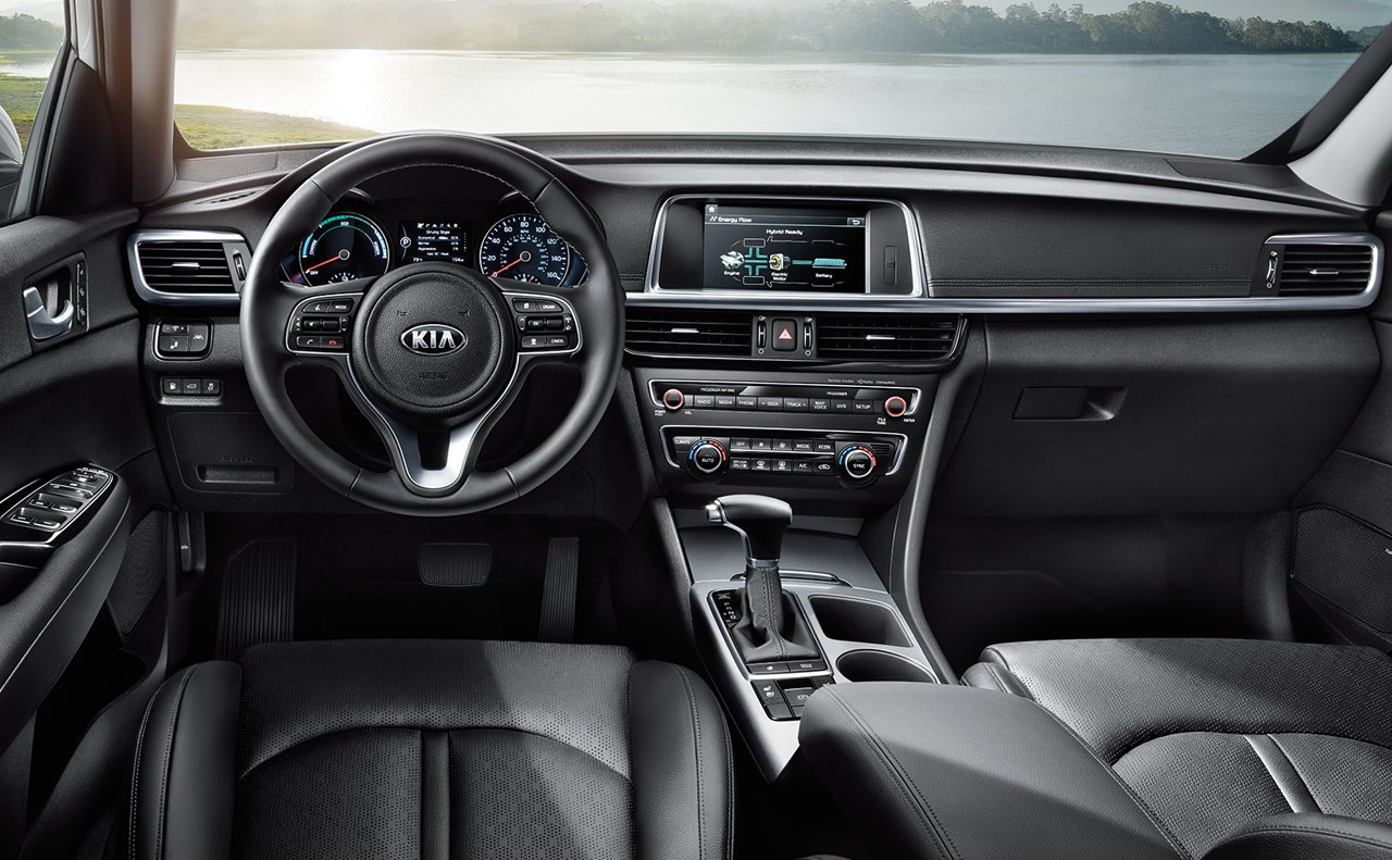 2017 Kia Optima Hybrid Dashboard Interior