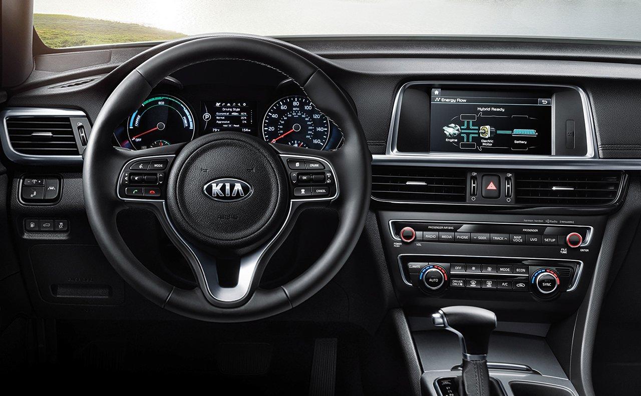 2017 Kia Optima Plug In Hybrid Interior Dashboard Jpg