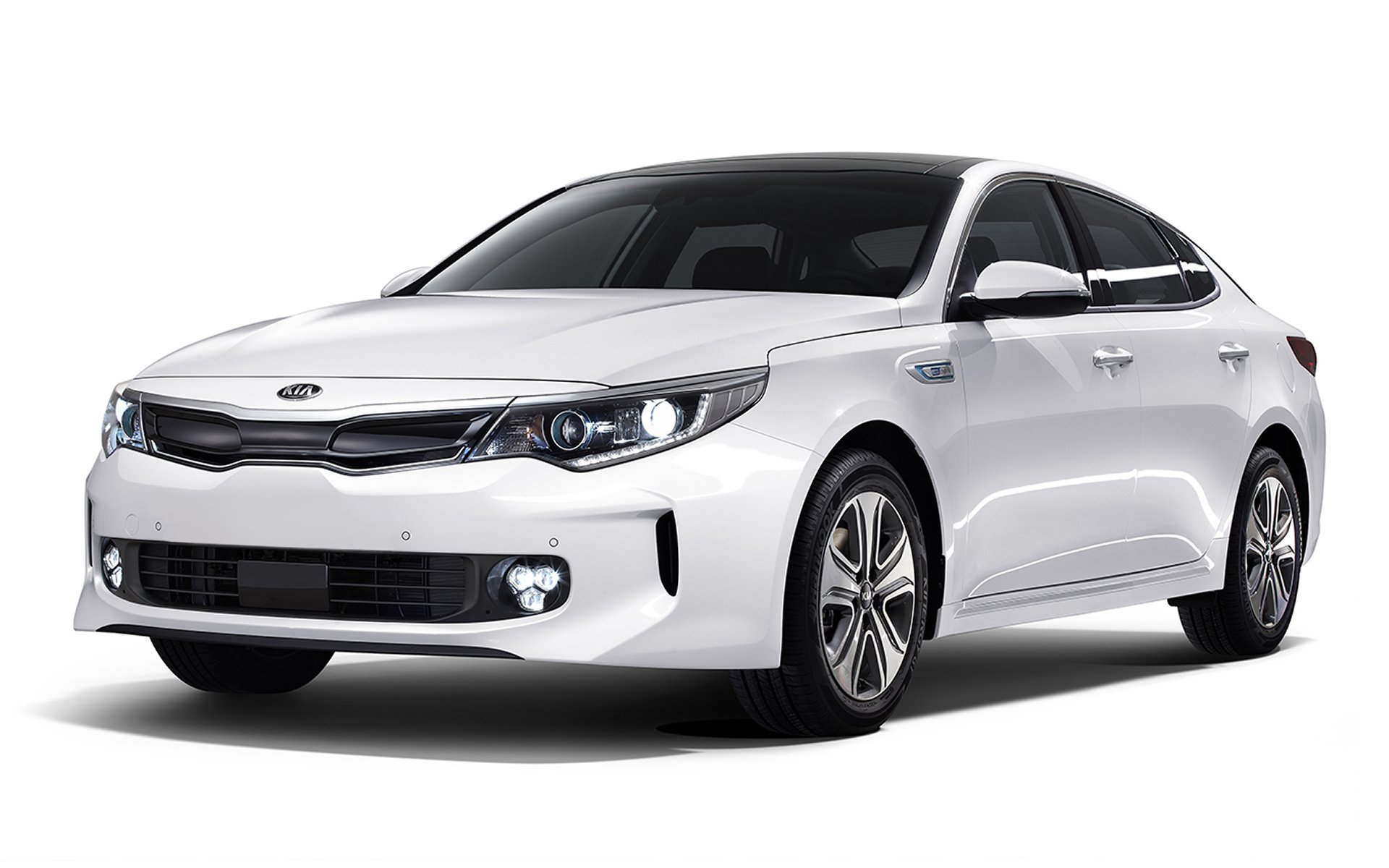 2017 Kia Optima Exterior Front White