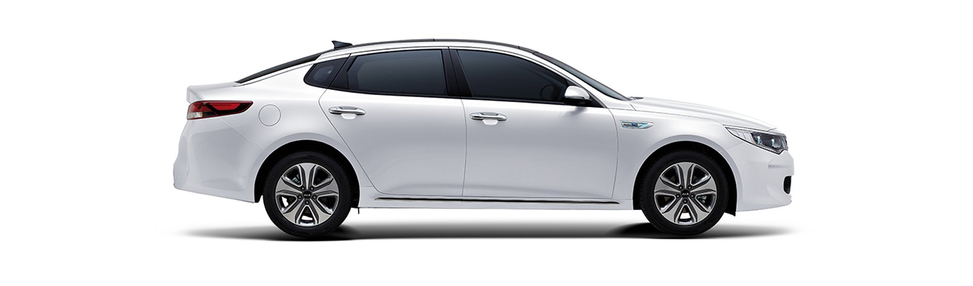 2017 Kia Optima Exterior Side White