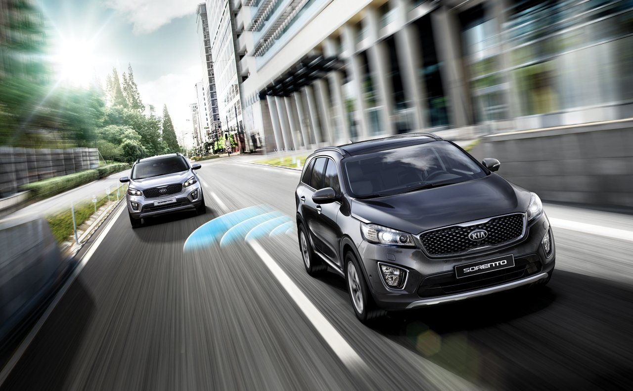 2017 Kia Sorento Exterior Lane Assist Feature