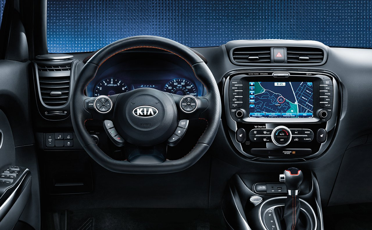 2017 Kia Soul Interior Seating