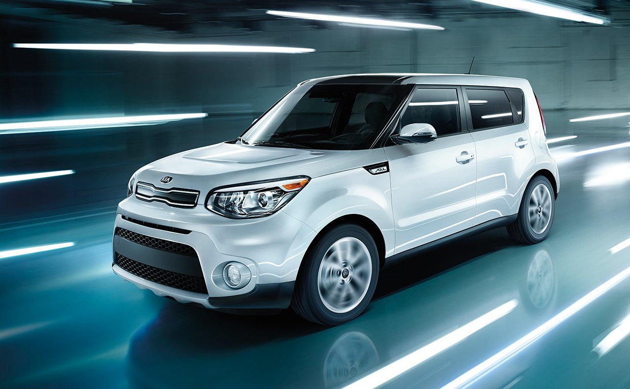 2017 Kia Soul White Side Exterior
