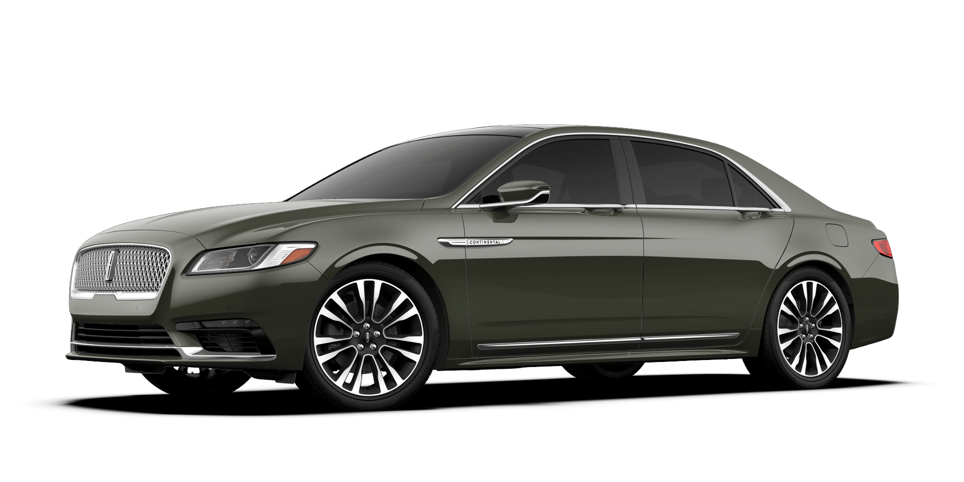 2017 Lincoln Continental Reserve Front Exterior Jade Green