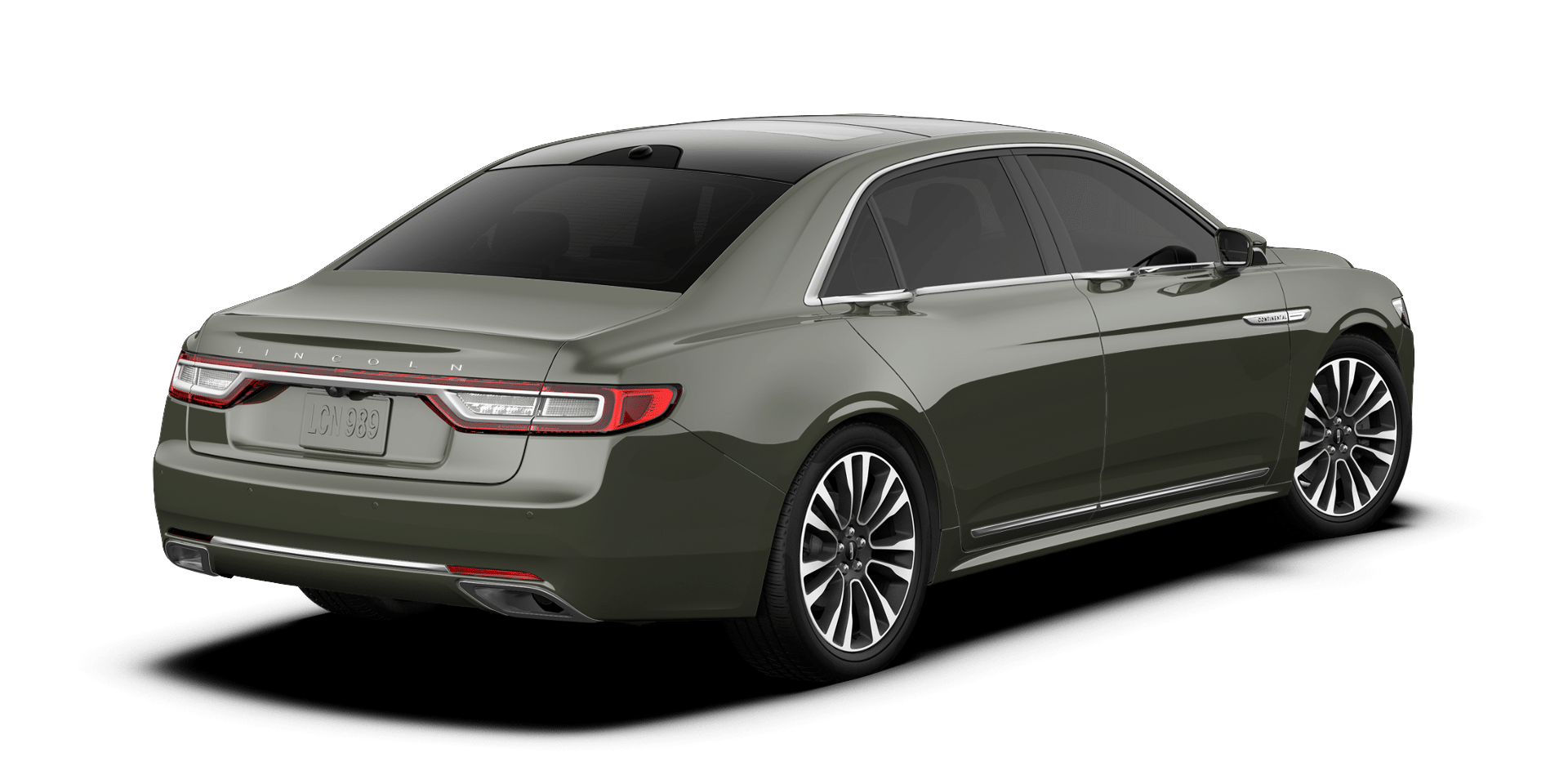 2017 Lincoln Continental Reserve Rear Exterior Top Jade Green