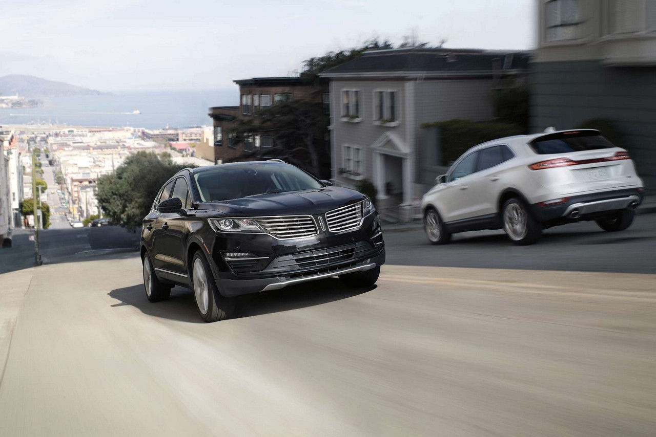 2017 Lincoln MKC Select Front Exterior
